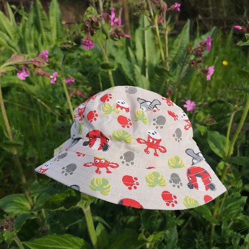 Child's Safari Animals Hat
