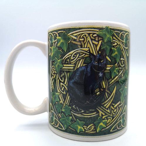 Magic Black Cat Mug