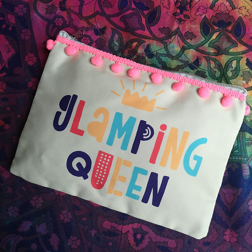 'Glamping Queen' Make Up Bag