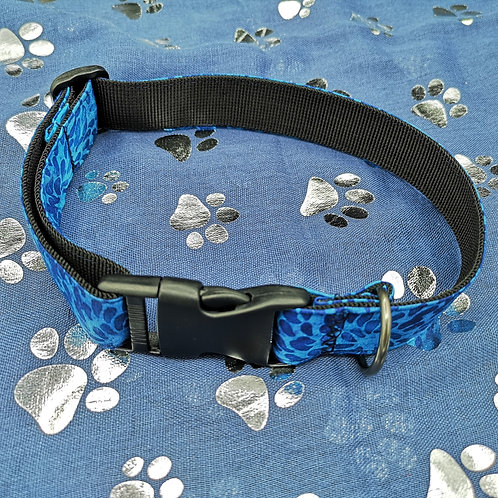 Blue Drop Dog Collar