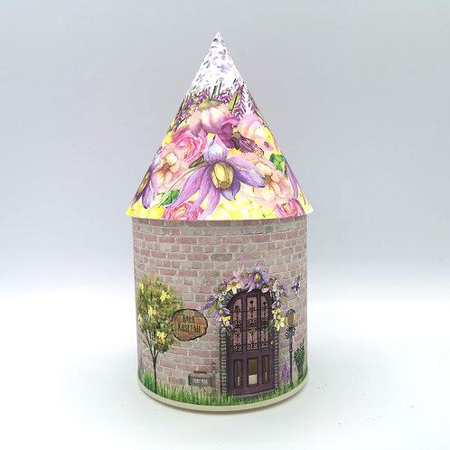 Pink Blossom Fairy House Night Light