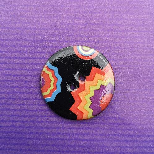 Funky Ceramic Button
