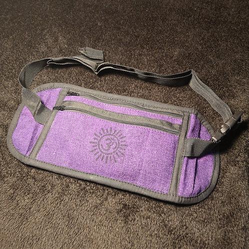 Purple Om Money Belt