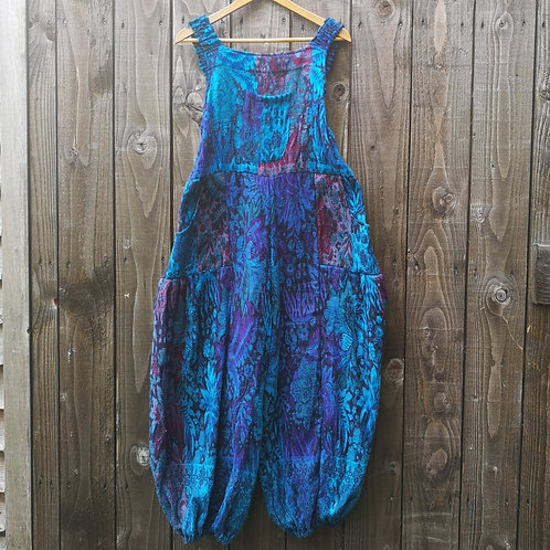 Cosy & Warm Blue Dungarees