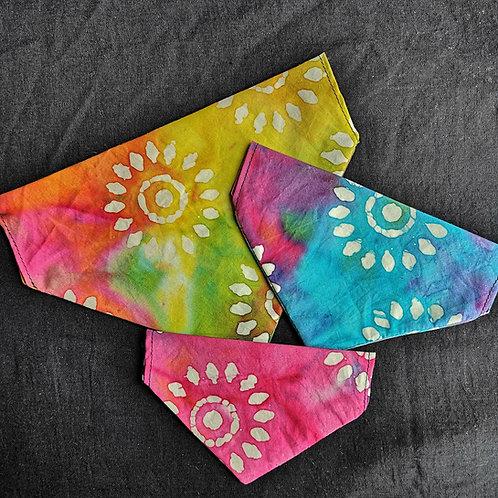 Batik Sun Tie Dye Bandana