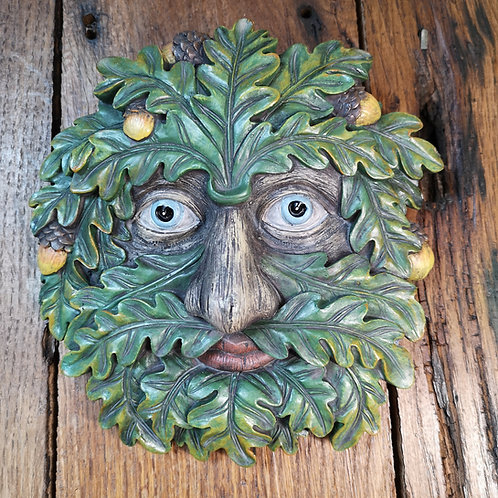 Odin Green Man Plaque