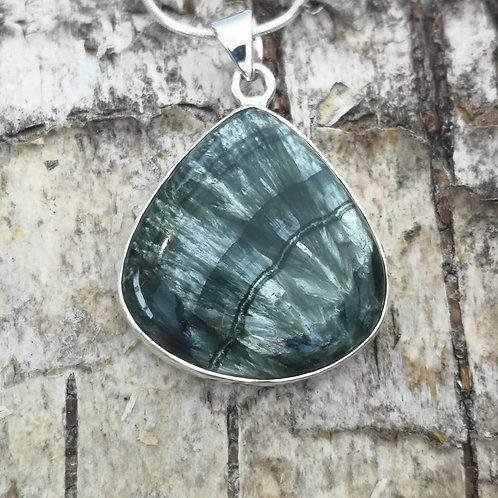 Silver Seraphinite Pendant