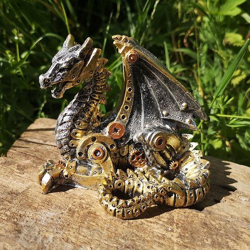 Steampunk Hatchling Dragon