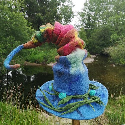 Wonky Woodland Felt Hat