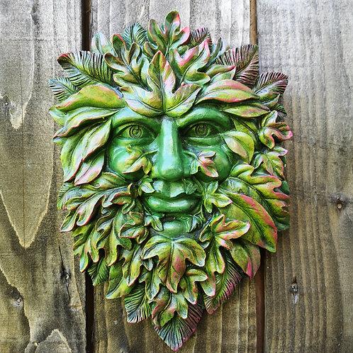 Jolly Green Man Plaque