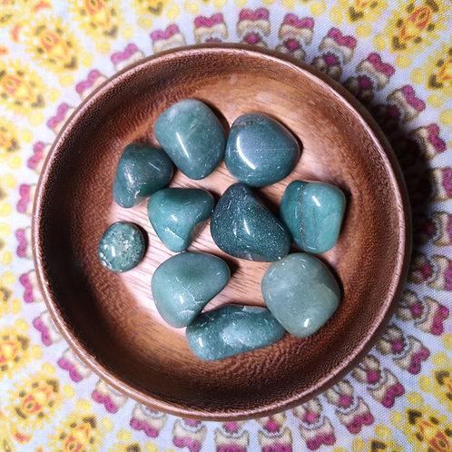 Green Aventurine Tumble Stone Small