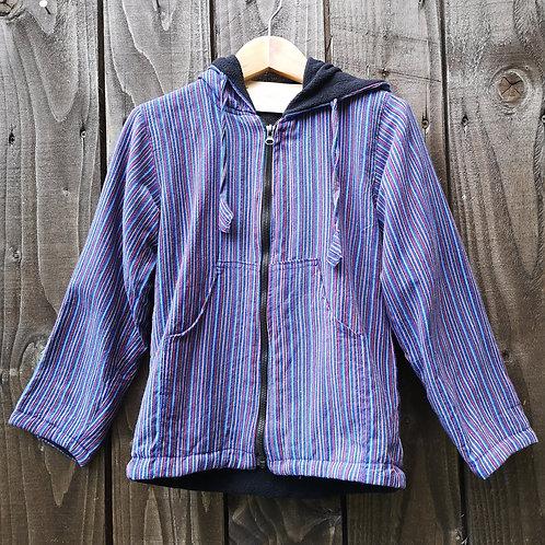 Purple Fleece Lined Hoody