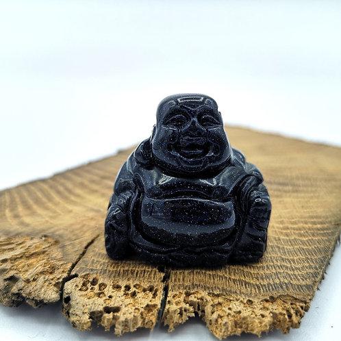 Blue Goldstone Buddha
