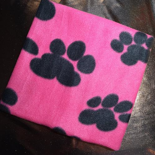 Pink Pawprint Snood
