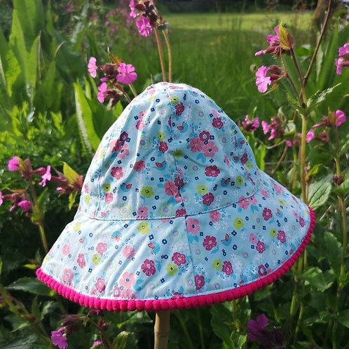 Child's Meadow Flowers Hat
