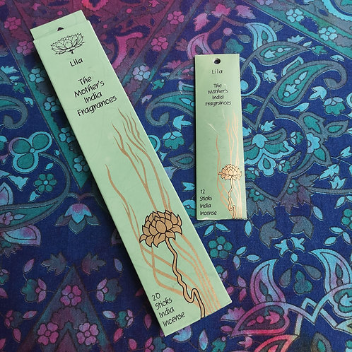 Lila Incense