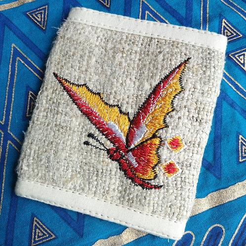 Hemp Butterfly Wallet