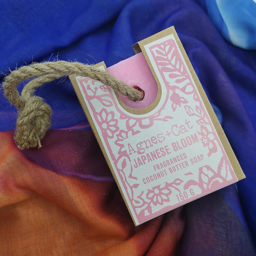 'Japanese Blossom' Soap on a Rope