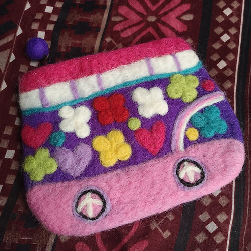 Purple Campervan