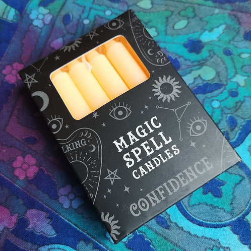 Magic Spell Candles 'Confidence'