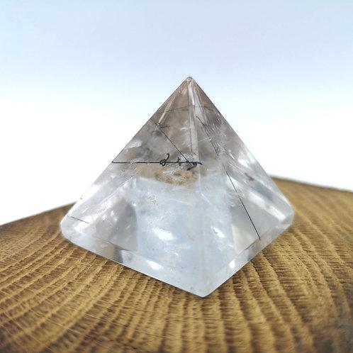 Tourmalinated  Quartz Pyramid