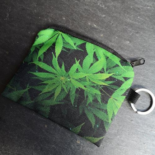Cannabis Keyring Purse