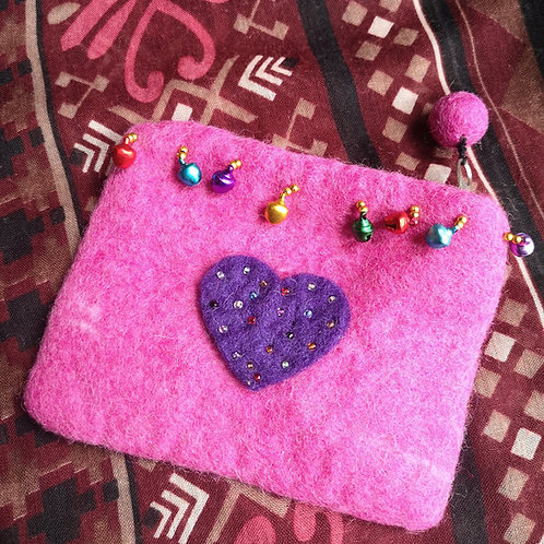 Purple Heart Purse