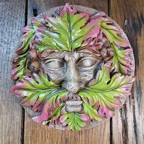 Spirit Green Man Plaque