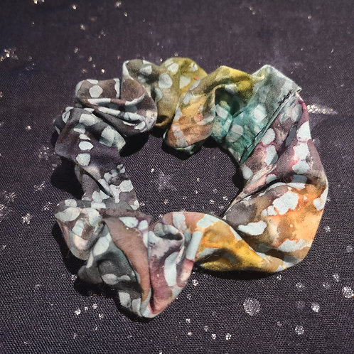 Psychedelic Caterpillar Scrunchie
