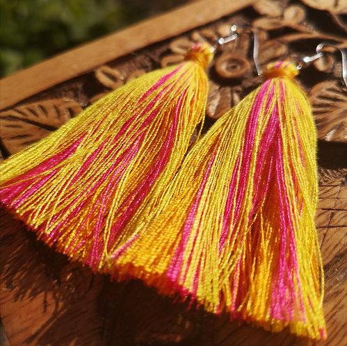 Light Tassel Earrings