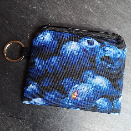 Blueberry Keyring Purse