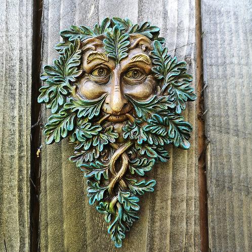 Oak Keeper Green Man Plaque