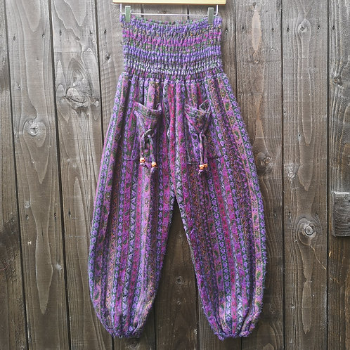 Cosy Purple Trousers