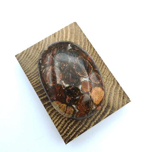 King Cobra Jasper Palm Stone