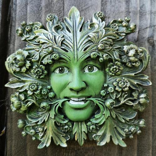 Fleur Green Man Plaque