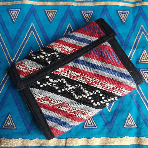 Blue & Red Wallet