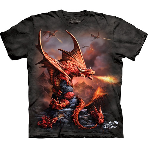 Child's Red Dragon T-Shirt