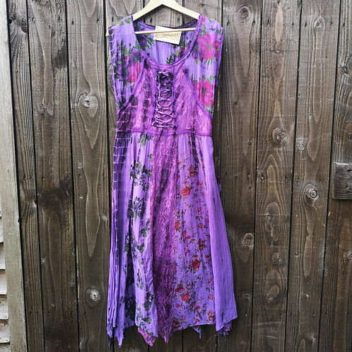 Purple Flower Pixie Dress
