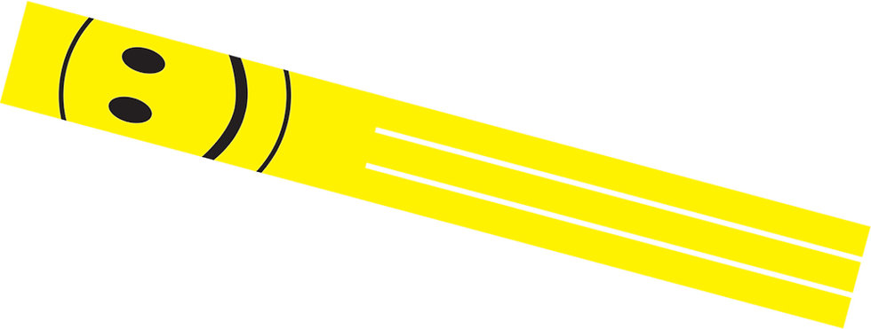 Happy Face Windsock