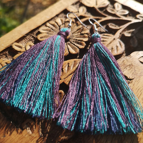 Ice Tassel Earrings