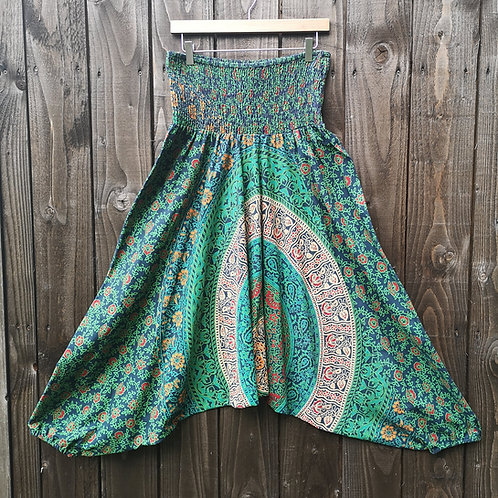 Green Harem Trousers