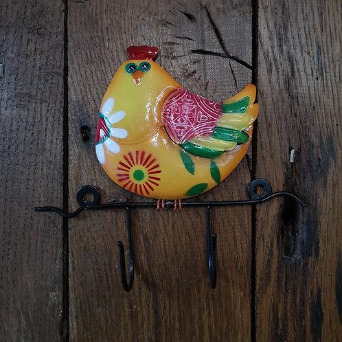 Happy Hen Wall Hook