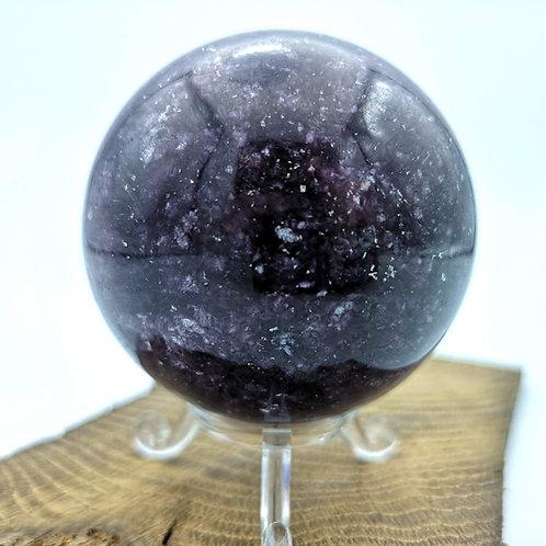Lepidolite Sphere