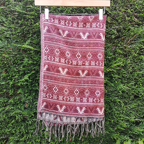 Autumnal Blanket Scarf