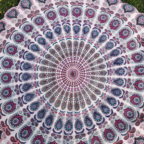 Red/Purple Mandala Tablecloth