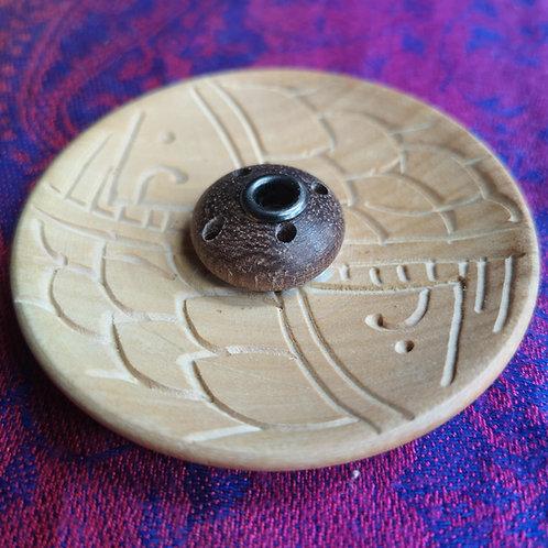 Tibetan Incense Wooden Holder