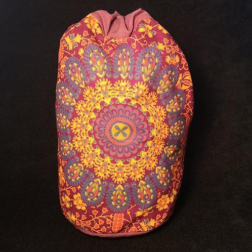 Maroon Mandala Duffel Bag