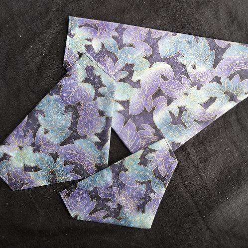 Leaf Print Bandana