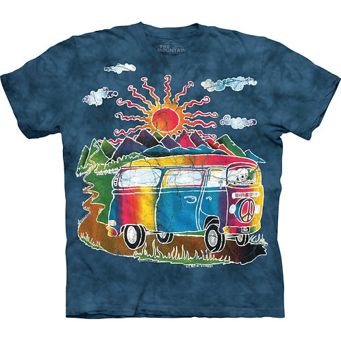 Rainbow Campervan T-Shirt