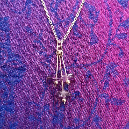 Aquarius Amethyst Necklace